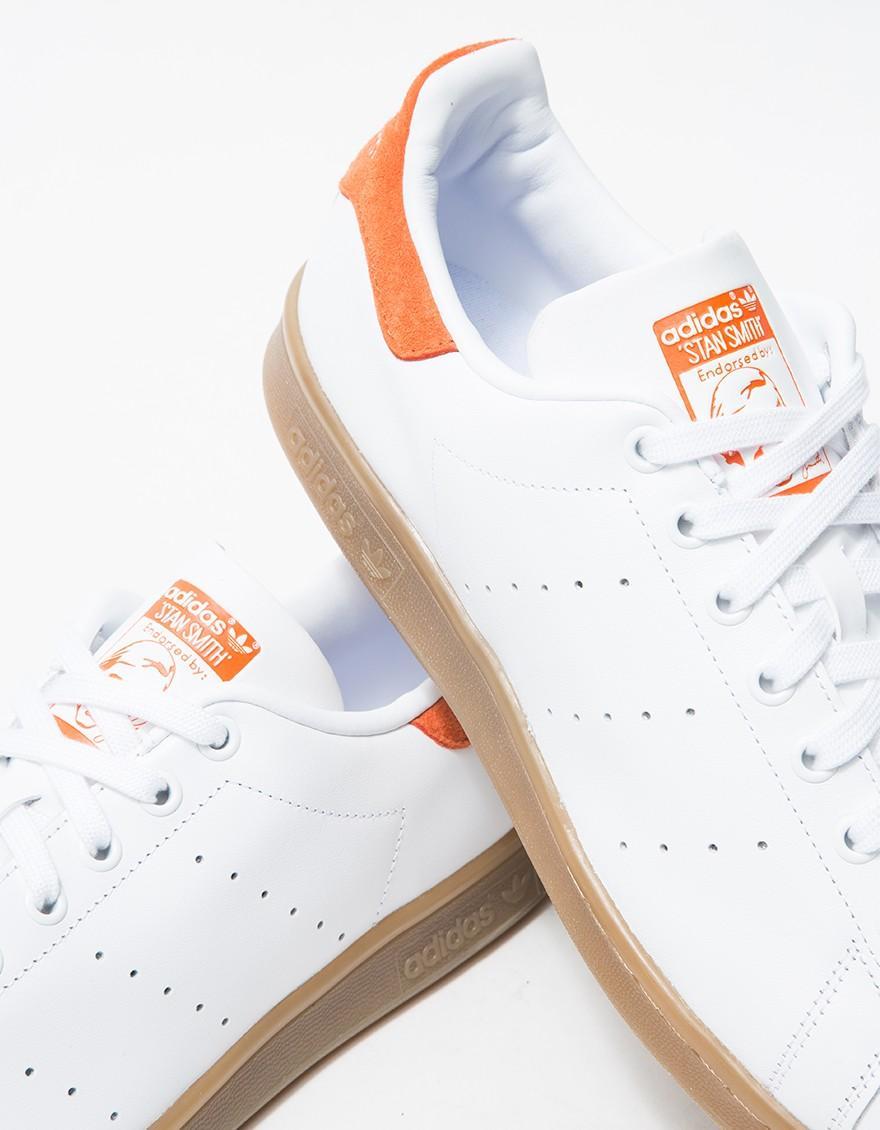 Adidas Originals Stan Smith Gum Craft Orange for men