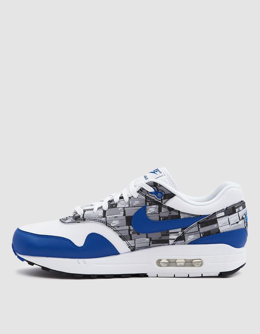 best sneakers 3f950 88af8 ... new zealand lyst nike atmos air max 1 print sneaker in blue for men  87361 ee8ec