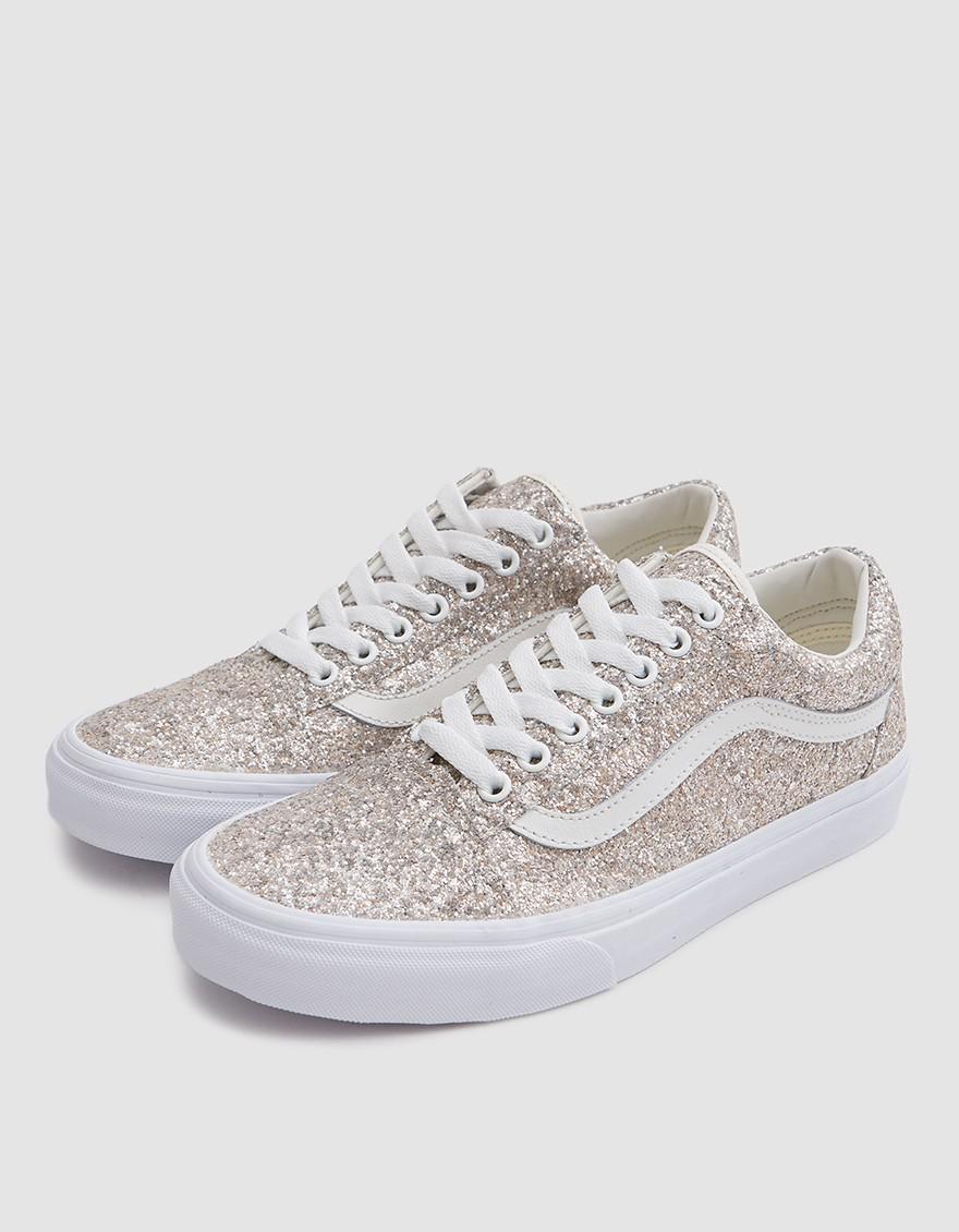 795c004f69 Lyst - Vans Old Skool In Multi Glitter true White in White