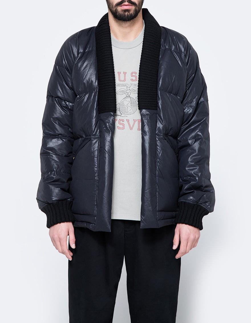 b1b86e7221 Lyst - Visvim Dotera Down Coat in Black for Men