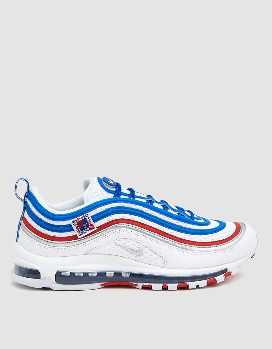 buy popular 95c6d 3bdfa Nike. Men s Blue Air Max 97 Sneaker