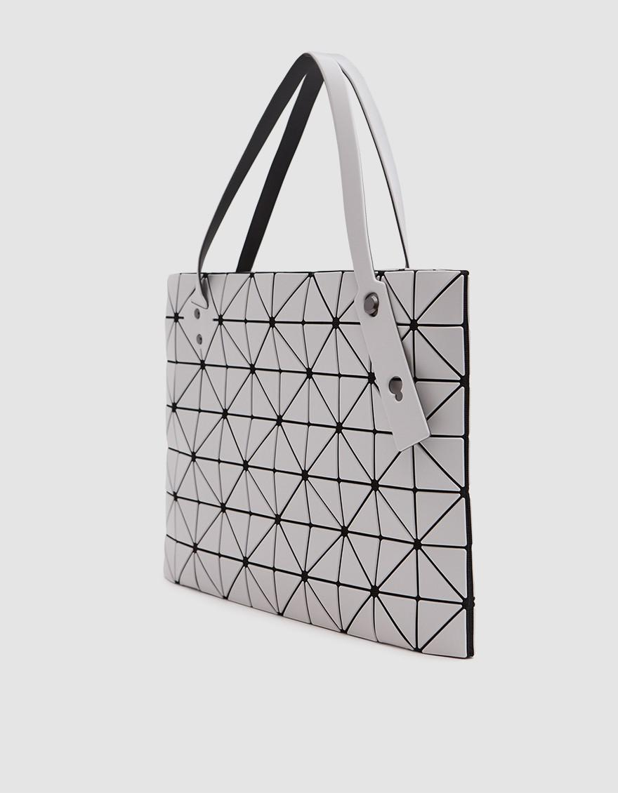 Lyst - Bao Bao Issey Miyake Rock Matte Large Tote in Gray fc1b07096a119