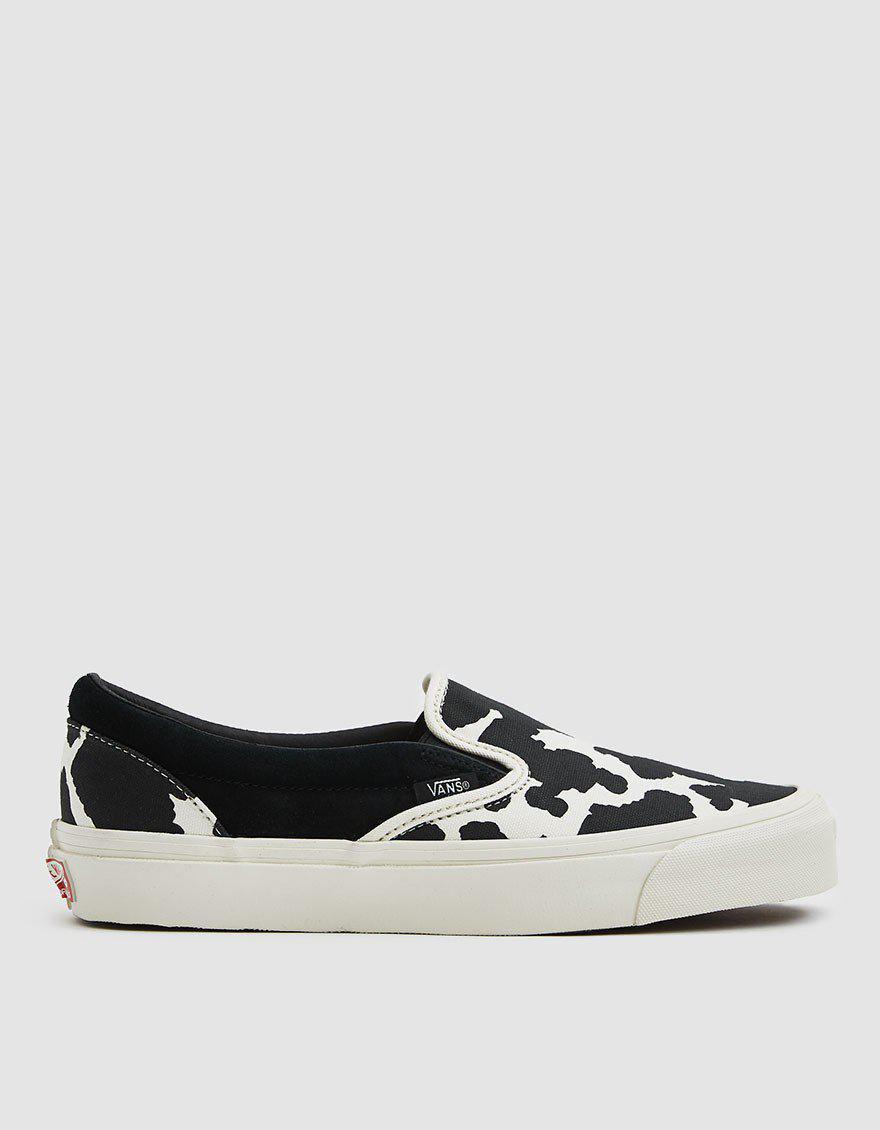 2dff6434dd2 Lyst - Vans Og Classic Slip-on Lx Sneaker in Black for Men