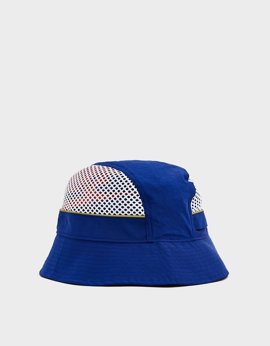 b23a20112 Nike Blue Mesh Bucket Hat for men