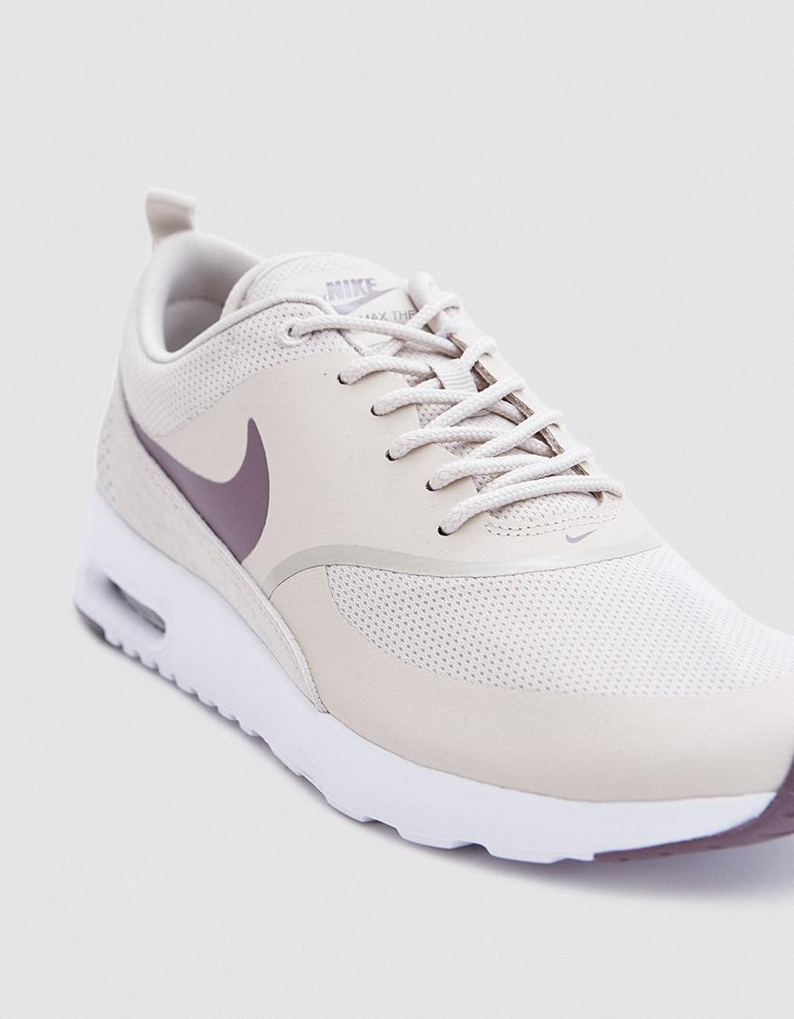 AIR MAX THEA Sneaker low light orewood browntaupe grey