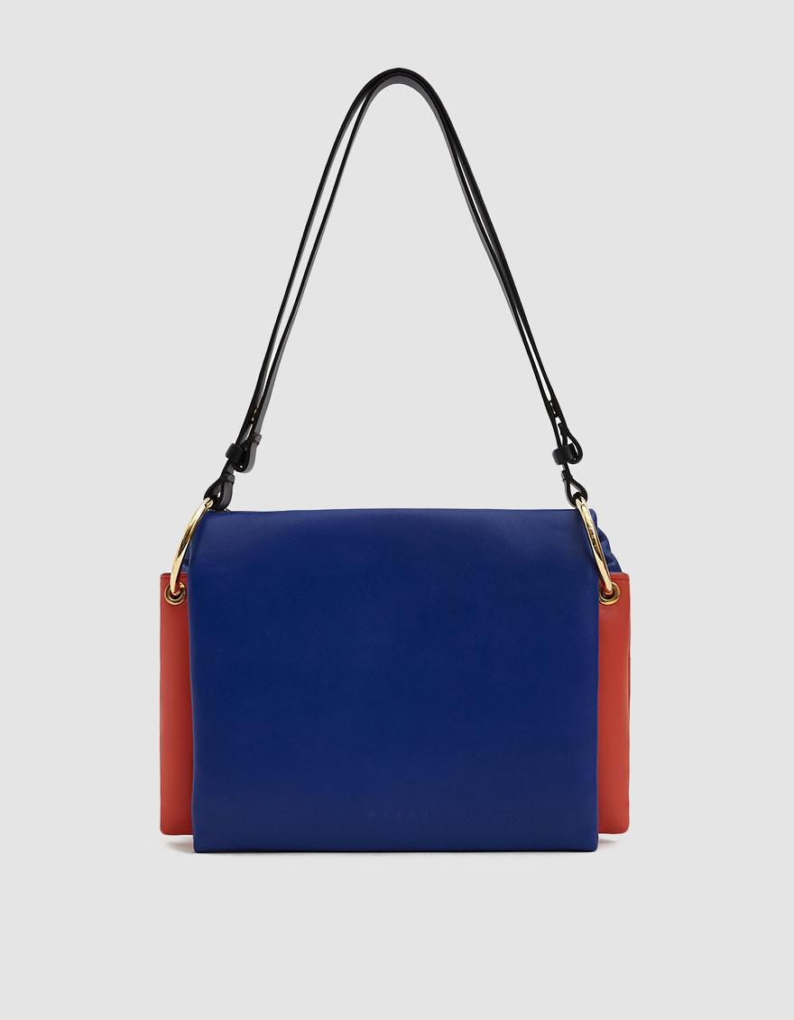 78c5594ff4e3 Marni Bandoliera Linea Multi-colored Bag in Blue - Lyst