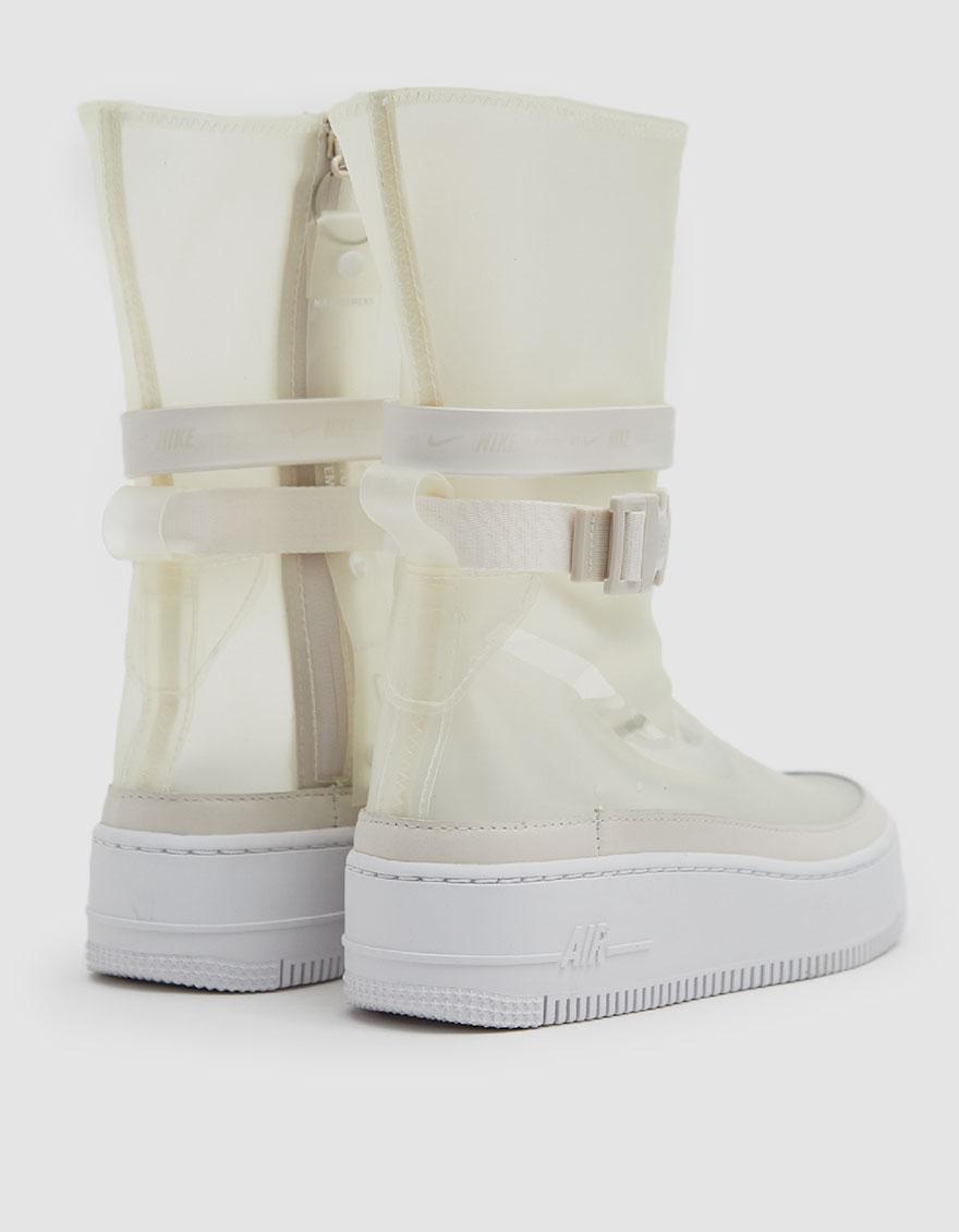 sale retailer 27b63 2e1e7 Nike White W Af1 Sage Hi Lx Sneaker