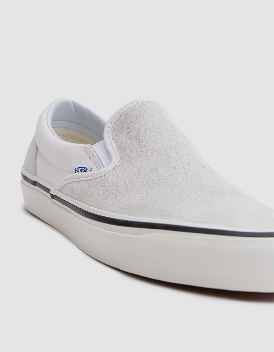 b48cea85ae3e1a Lyst - Vans Classic Slip-on 98 Dx Anaheim Factory In Og White in ...