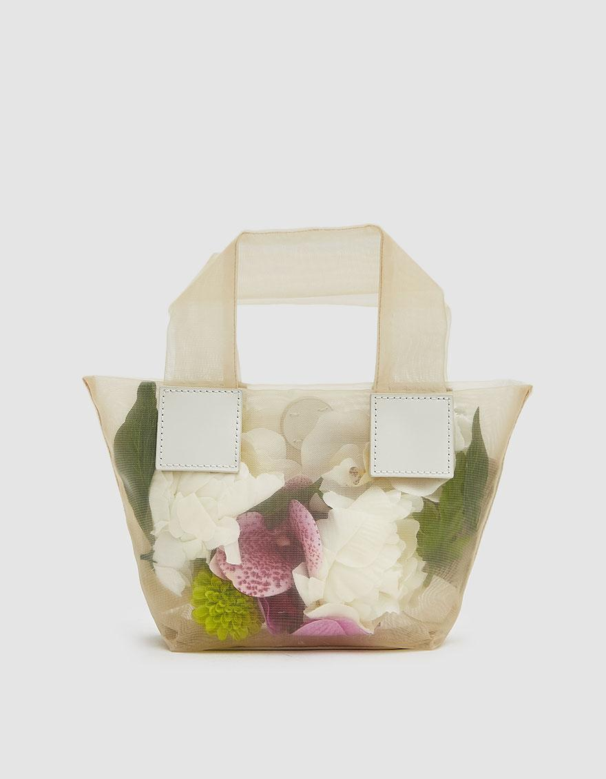 1e0612a4caa Kara Baby Puffer Tote With Flowers - Lyst