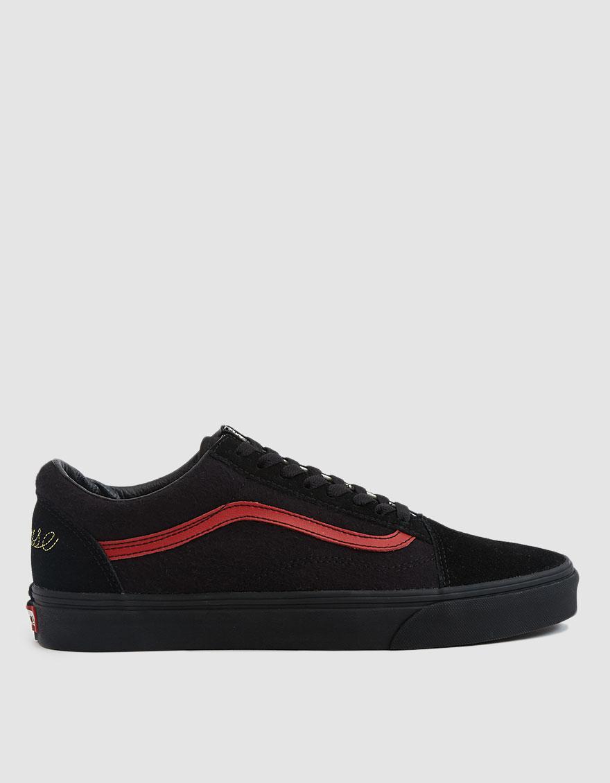f9007737dd Lyst - Vans Disney Old Skool Mickey Mouse Club Sneaker in Black for Men