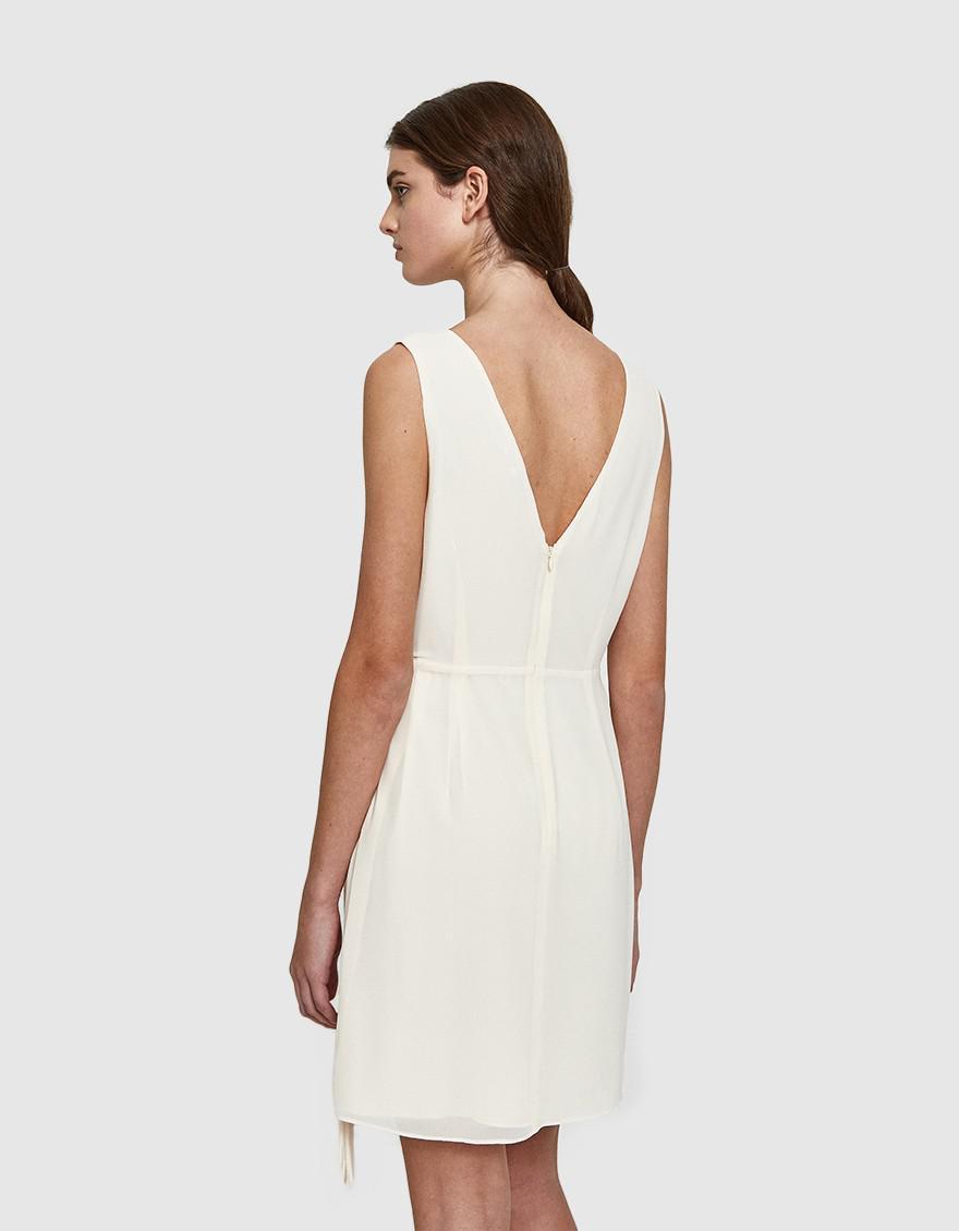 5b7aa78f6d0 Lyst - Farrow Lucy Dress in Natural