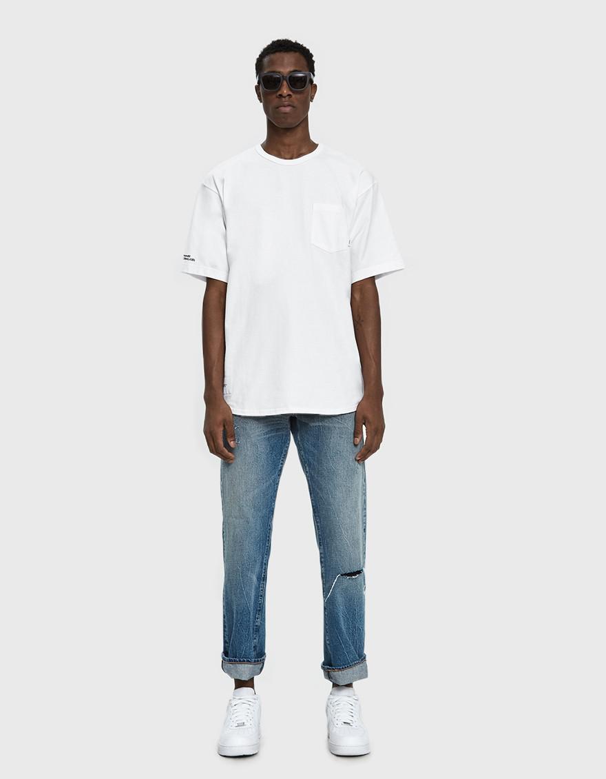 29385dc91 (w)taps White S/s Blank Gps 03 Tee for men