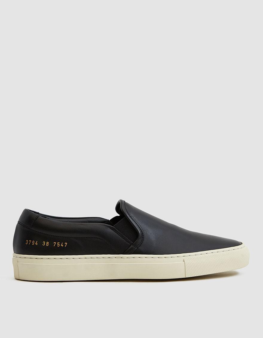 745bf18e584d Lyst - Common Projects Slip-on Retro Sneaker in Black