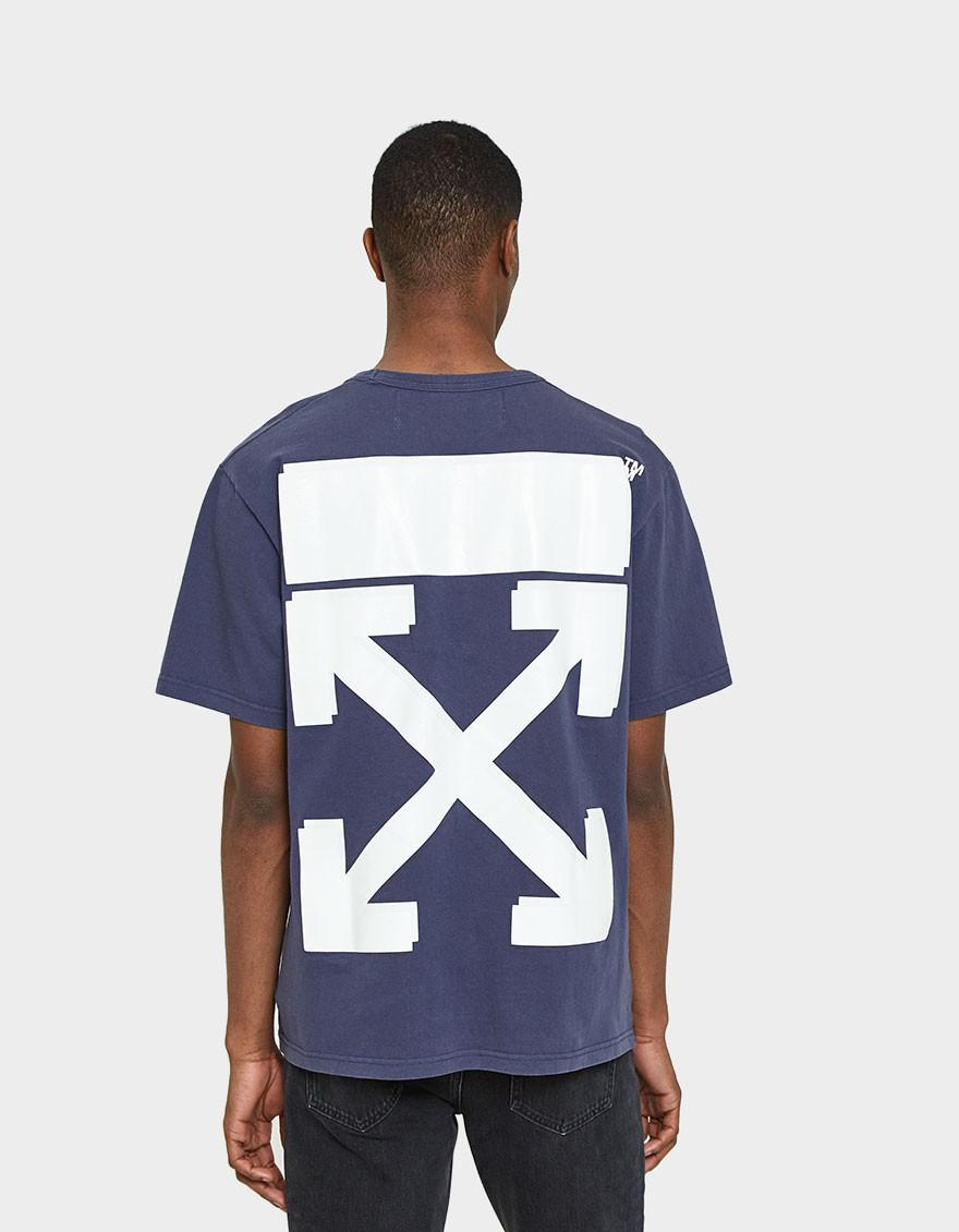 9d3129f1 Off-White c/o Virgil Abloh Champion Tee In Dusty Blue in Blue for ...