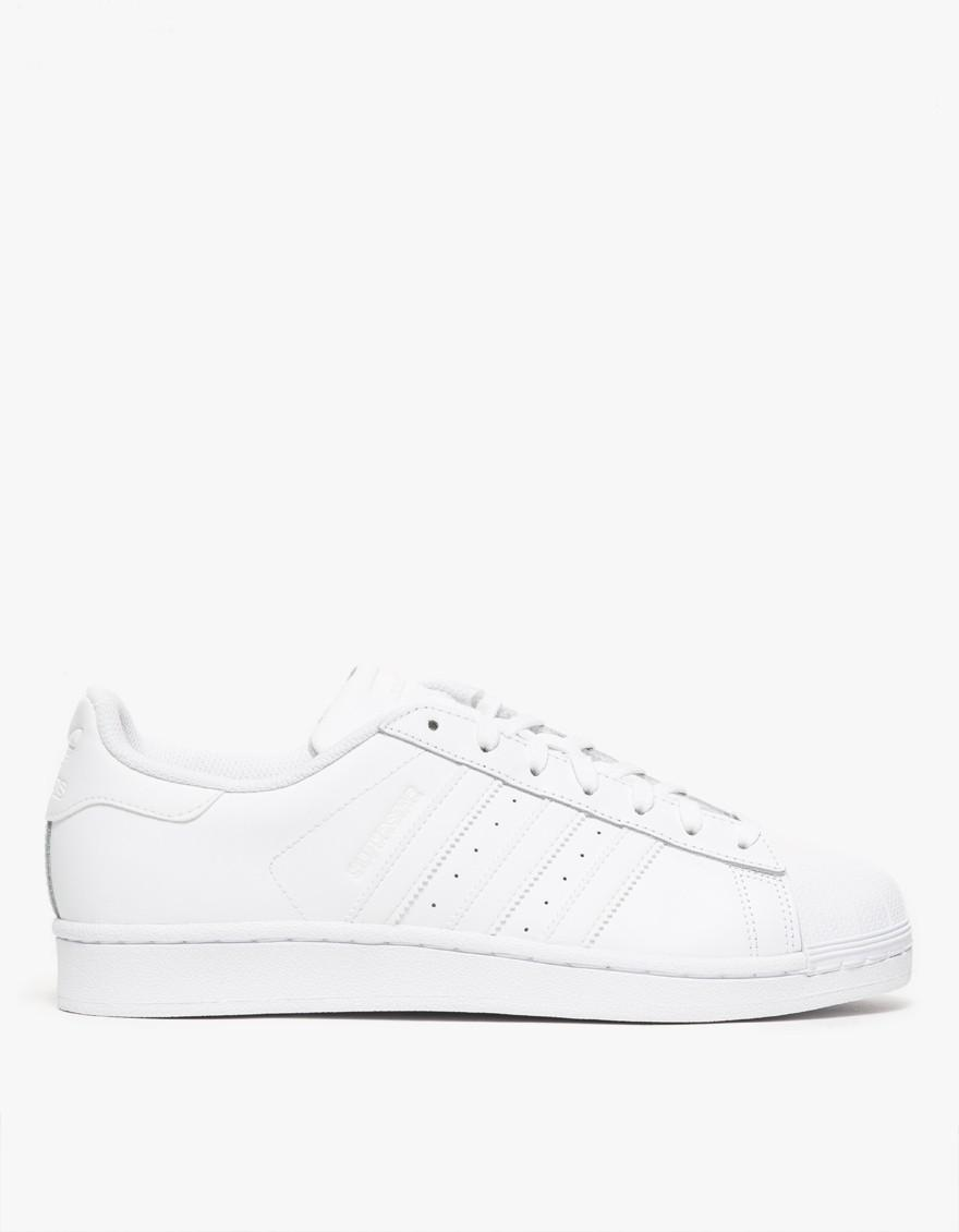 Lyst Adidas A Superstar Trainer In Bianco A Adidas Salvare Il 53% 144e8c