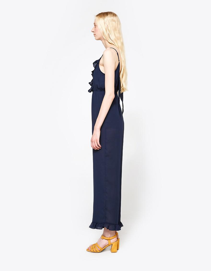 87449e04a6ed Farrow Alhambra Jumpsuit in Blue - Lyst