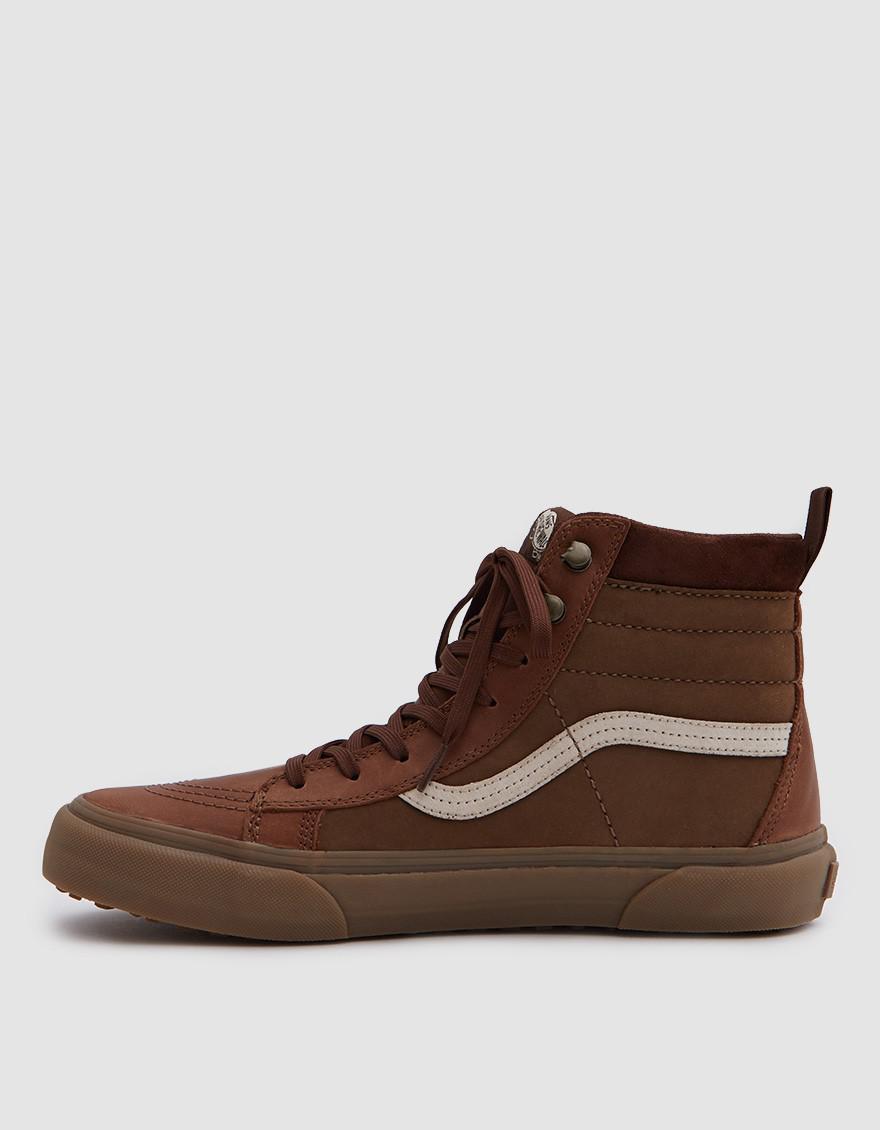 047300eef2 Lyst - Vans Sk8-hi Gore-tex Mte in Brown for Men