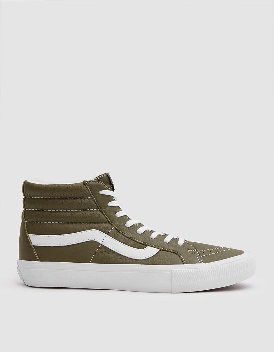 aa11f4a4e0cfa7 Lyst - Vans Italian Leather Sk8-hi Reissue Vlt Lx Shoe for Men