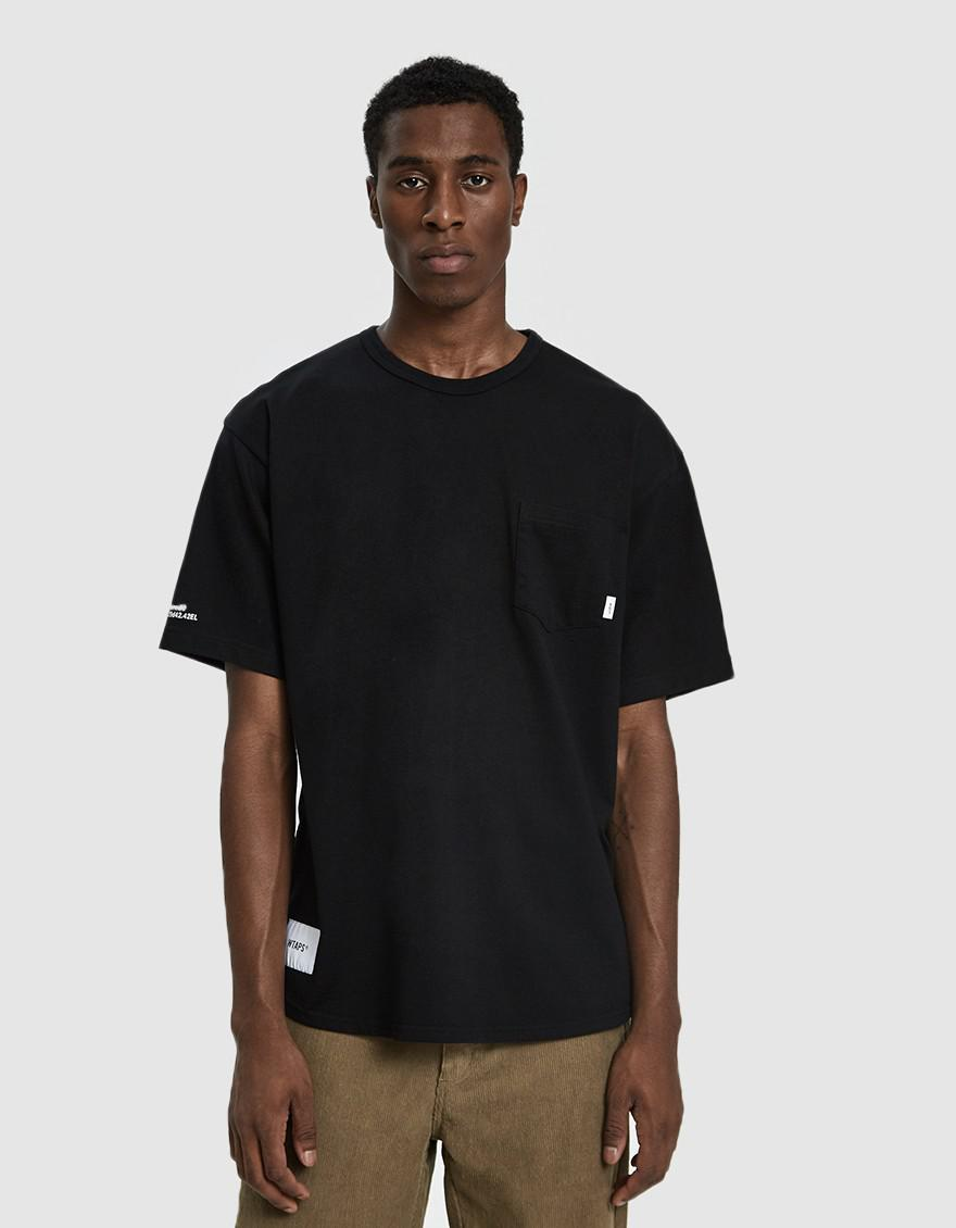 e7a4418d2 (w)taps Black S/s Blank Gps 03 Tee for men