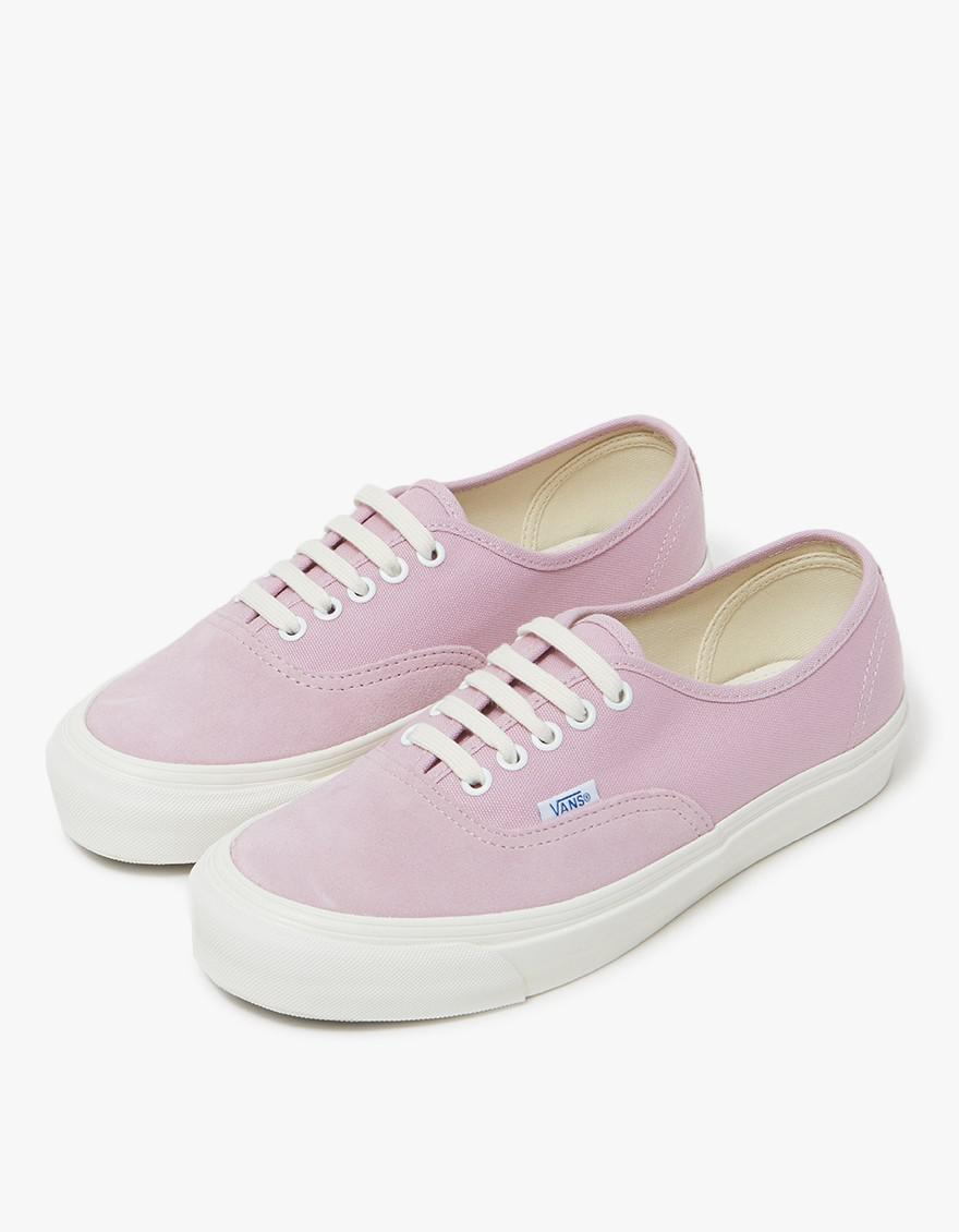 0ea495f0ff7d Lyst - Vans Og Authentic Lx In Suede Fragrant Lilac in Purple
