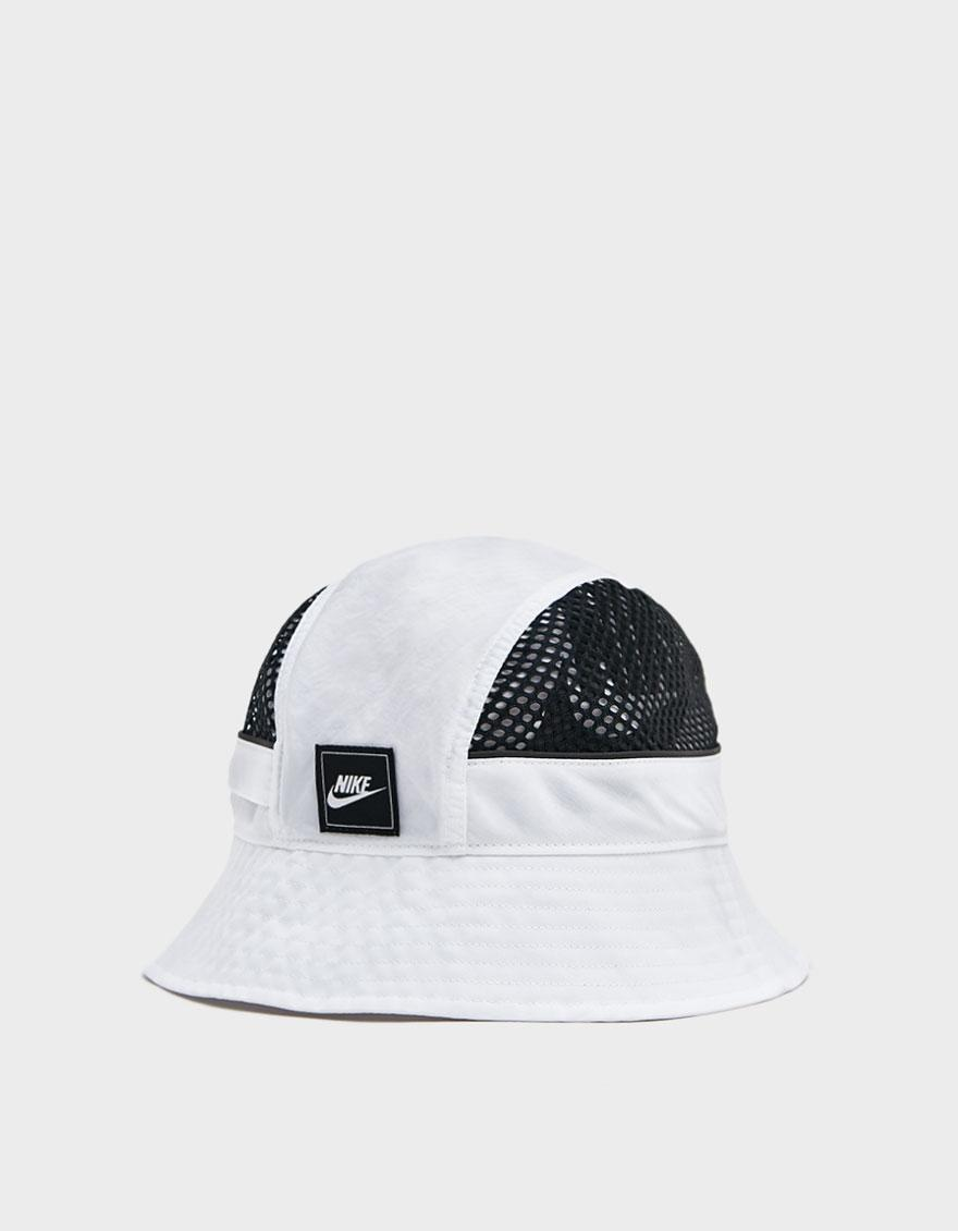 ee939dc986c Nike - White Mesh Bucket Hat for Men - Lyst. View fullscreen