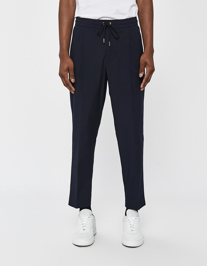 1d9ea7169 Lyst - Moncler Athletic Pull-on Pant in Blue for Men