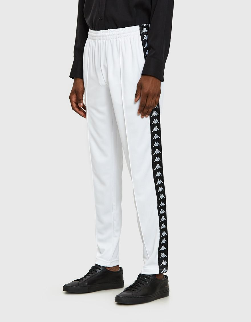 3a53e8846d Kappa Banda Arama Cropped Pant In White/black for men