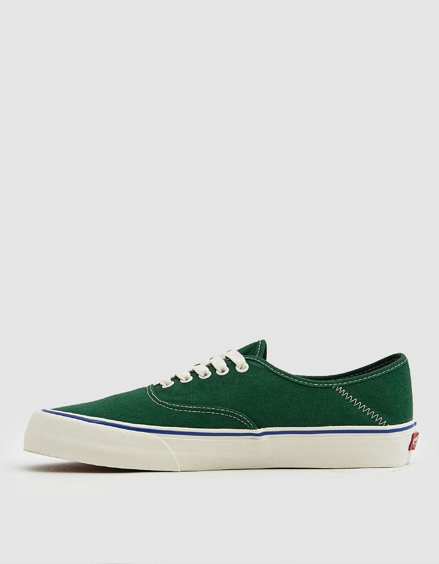 9f79200065ea Lyst - Vans Authentic Sf Salt Wash Sneaker in Green for Men - Save 5%