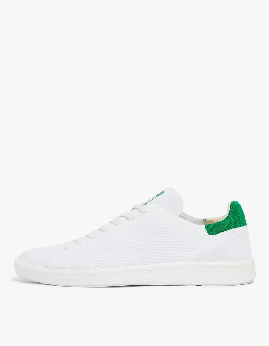 new arrival 2c5d4 65568 Adidas Stan Smith Boost Primeknit In White/green