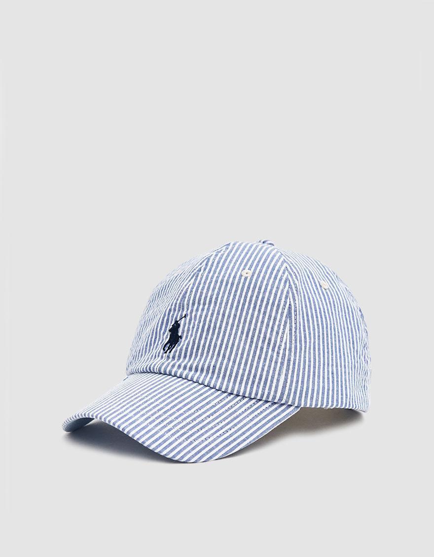 c7c874c9d0146 Polo Ralph Lauren Classic Seersucker Cap in Blue for Men - Lyst