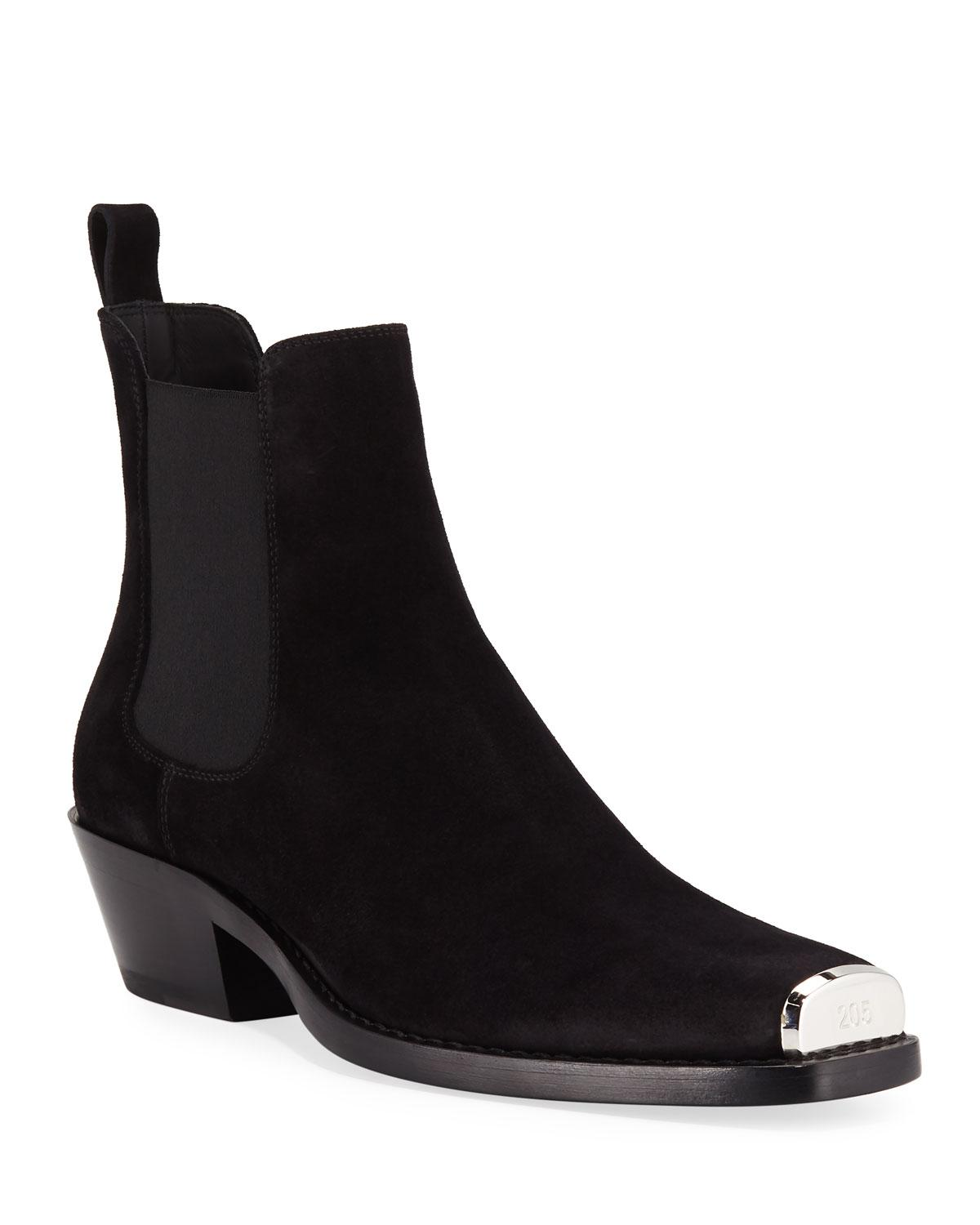 Chris Western Suede Boots