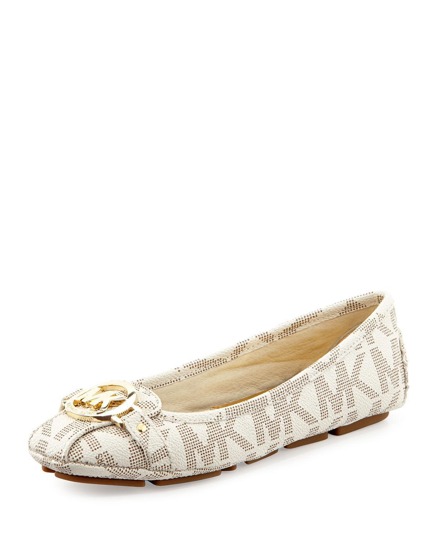 Michael Kors Gold Heel Shoe