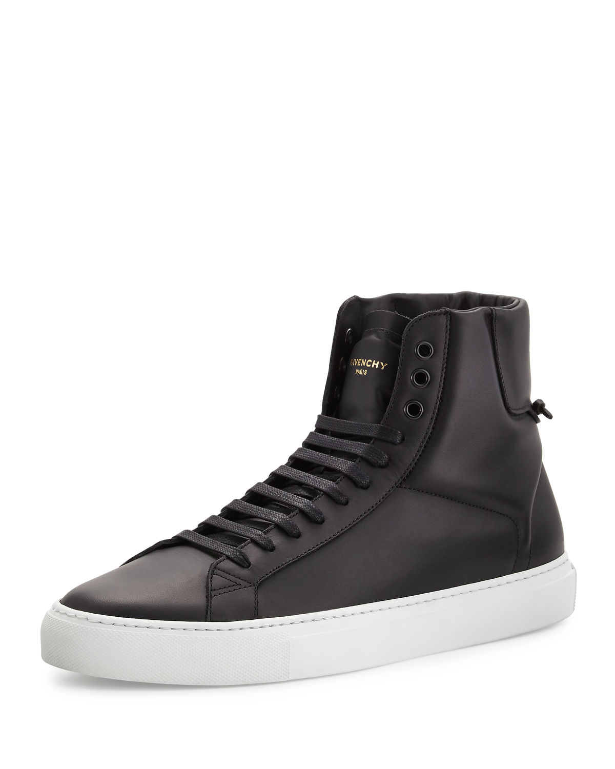 Givenchy Urban Street High Top Sneakers In Black For Men