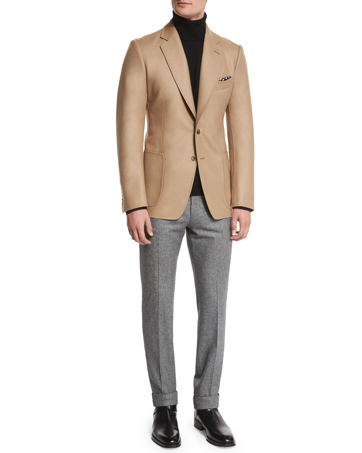 best deals on modern and elegant in fashion reliable quality Tom Ford Metallic O'connor Base Solid Jacket for men