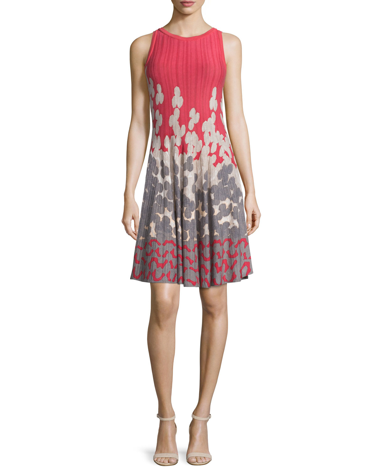 Nic Zoe Posie Twirl Fit And Flare Dress In Pink Lyst