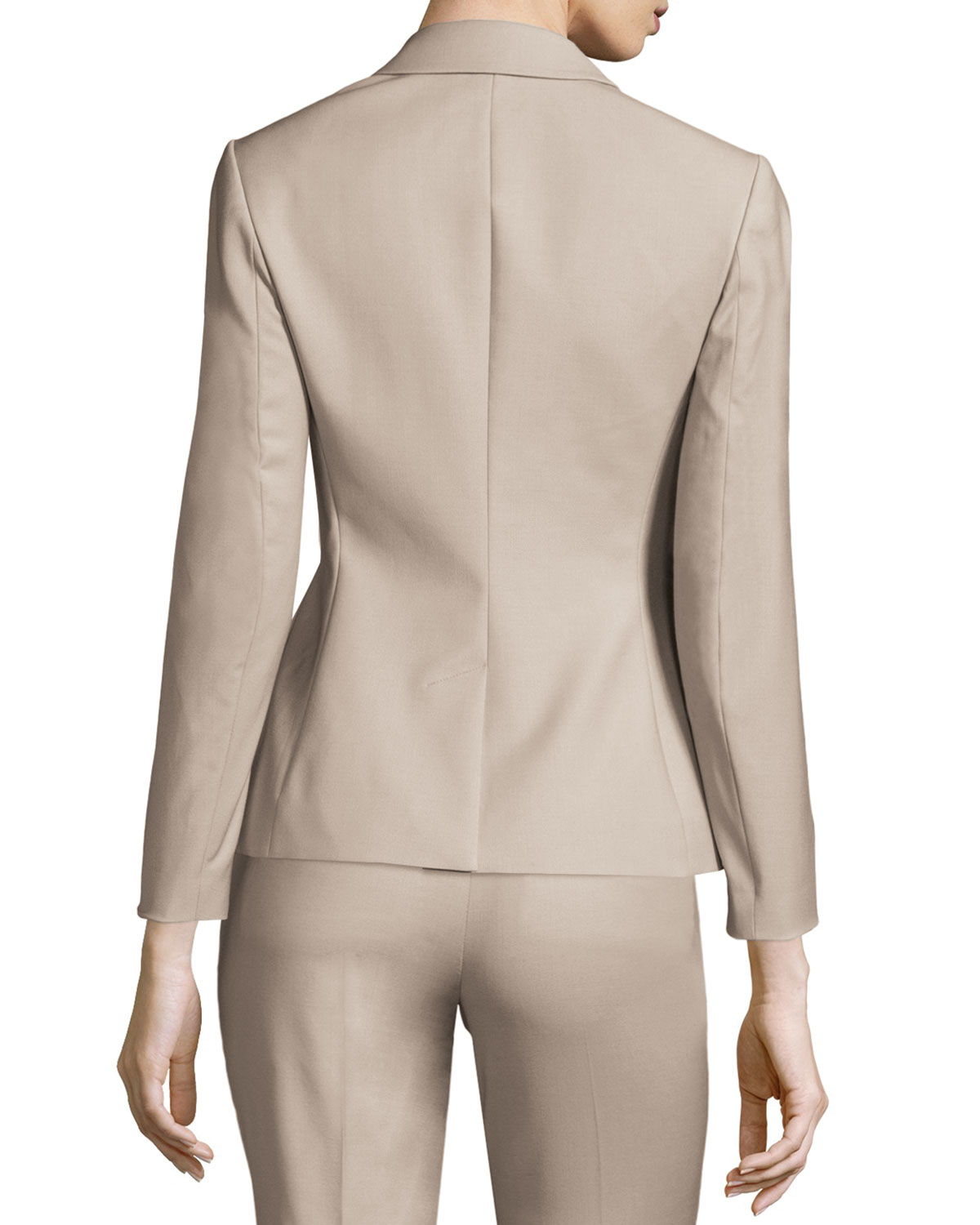 0d9a4bf56304 Lyst - Theory Braneve Wool-Blend Jacket in Gray