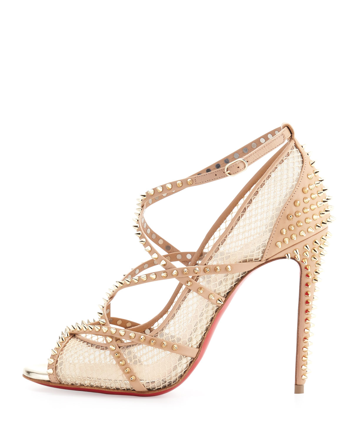 where are brighton purses made - christian louboutin guni mesh spike 55mm red sole pump, men ...