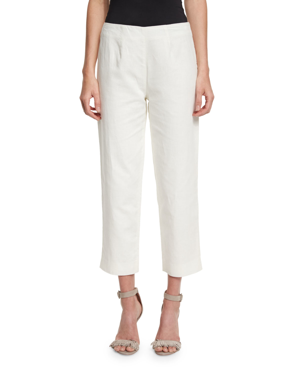 Shop white linen pants at Neiman Marcus, where you will find free shipping on the latest in fashion from top designers.