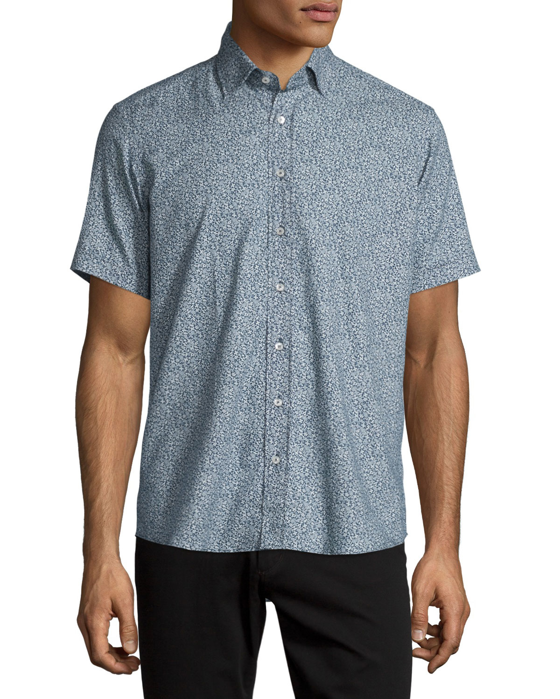 Lyst etro paisley print short sleeve sport shirt in for Etro men s shirts