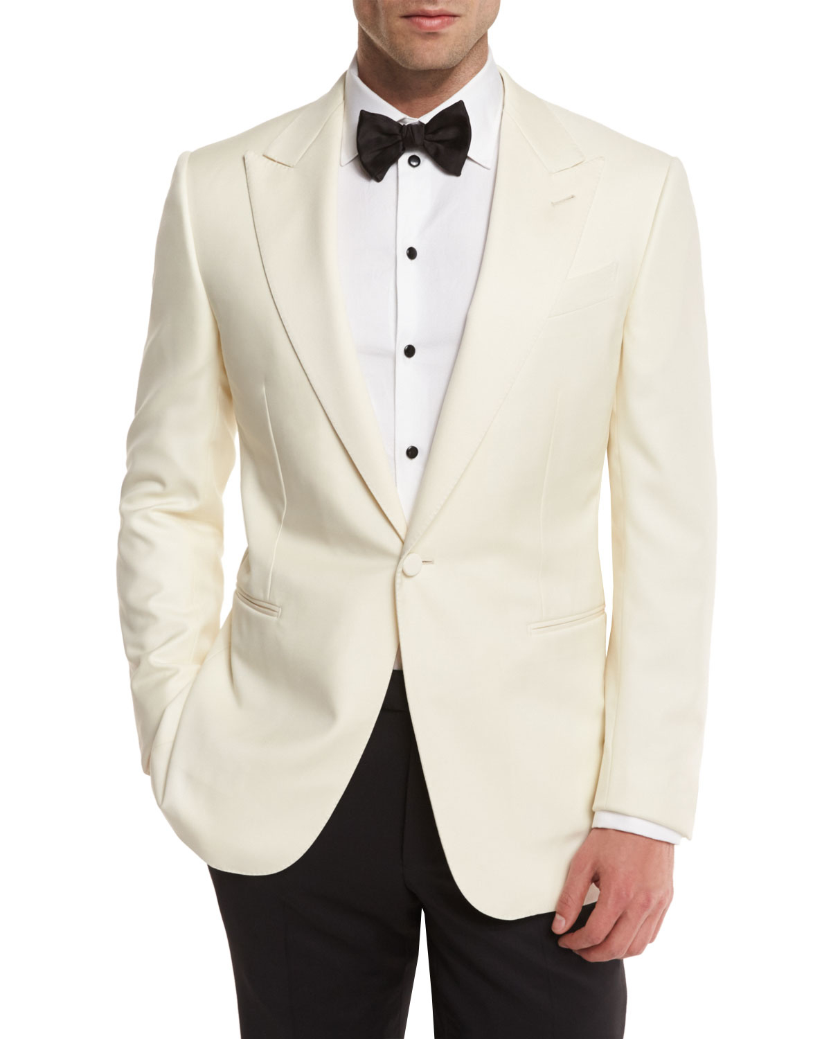 I needed a white dinner jacket for a special cruise. Locally, prices were too expensive ($ to $) for this one-time use. This jacket easily compares to the $+ jacket I tried on at a major high-end retailer.