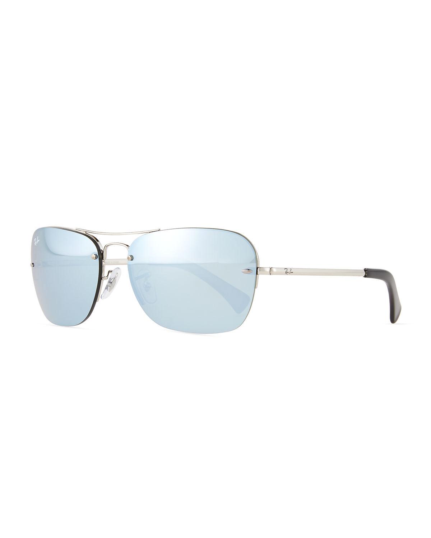 blue raybans 18di  ray bans aviators blue lenses