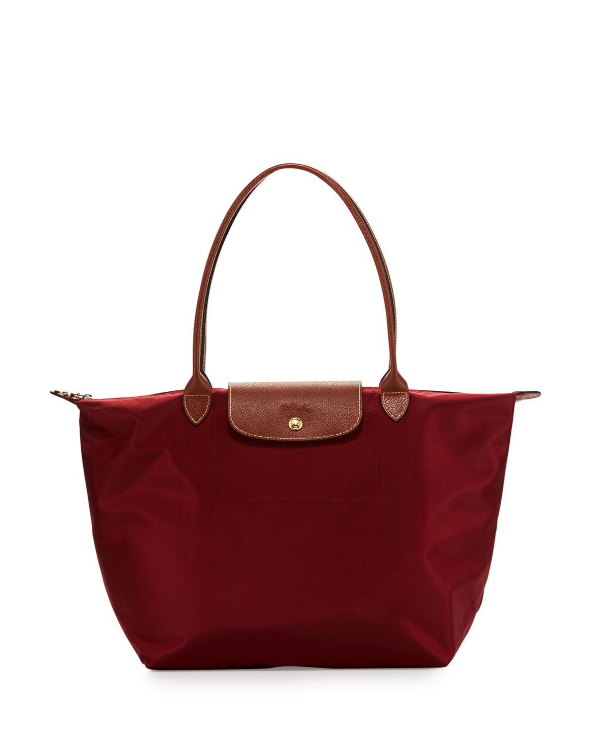 Lyst Longchamp Le Pliage Large Shoulder Tote Bag In Red