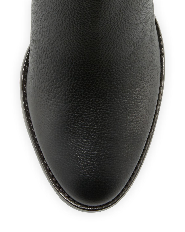 3fc924eb913f Lyst - Jimmy Choo Method Leather 65mm Bootie in Black