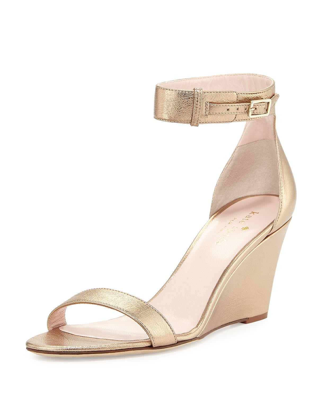 Lyst Kate Spade Ronia Naked Wedge Sandal