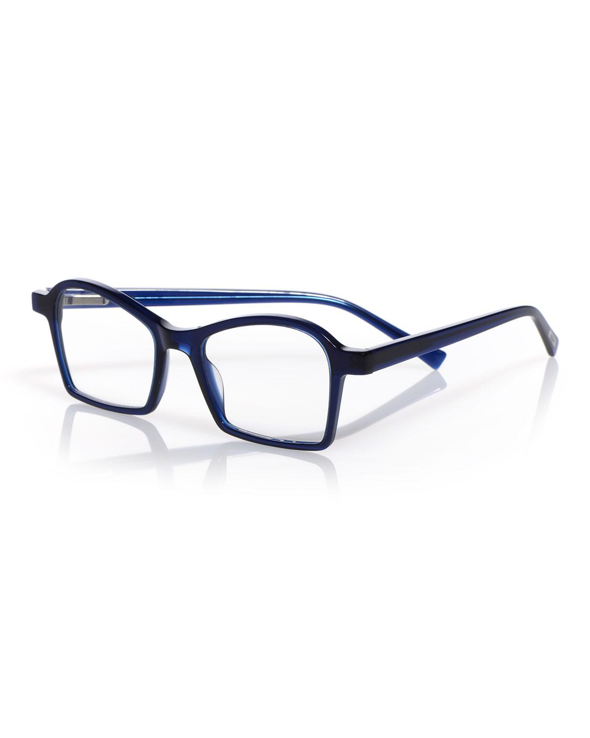 aa2ab4044ac Lyst - Eyebobs Sparkler Square Reading Glasses in Blue