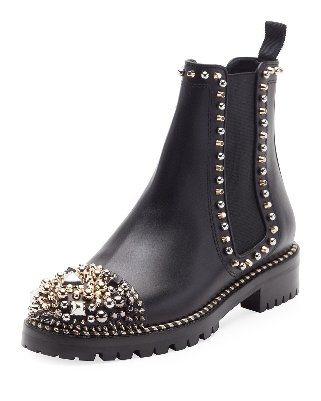 explore online Christian Louboutin Chelsea Pointed-Toe Booties big sale online 2jylv