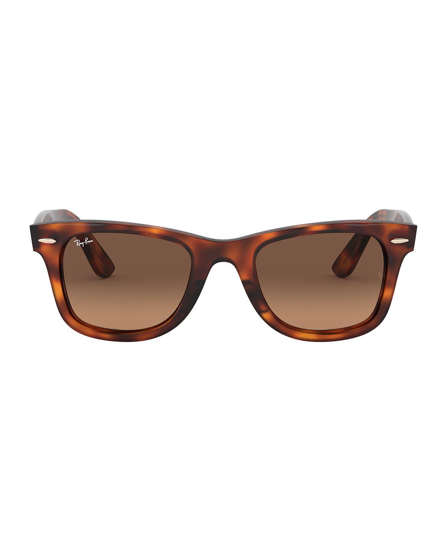 33452a9c3c Ray-Ban Men s Wayfarer Ease Propionate Sunglasses in Brown for Men ...