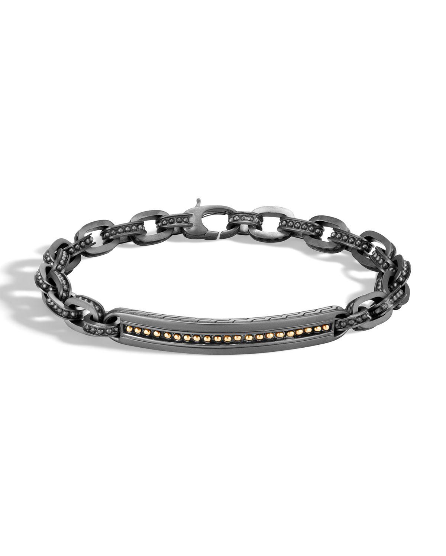 John Hardy Mens Classic Chain Link Jawan Sterling Silver Bracelet g6b7o1NoV9