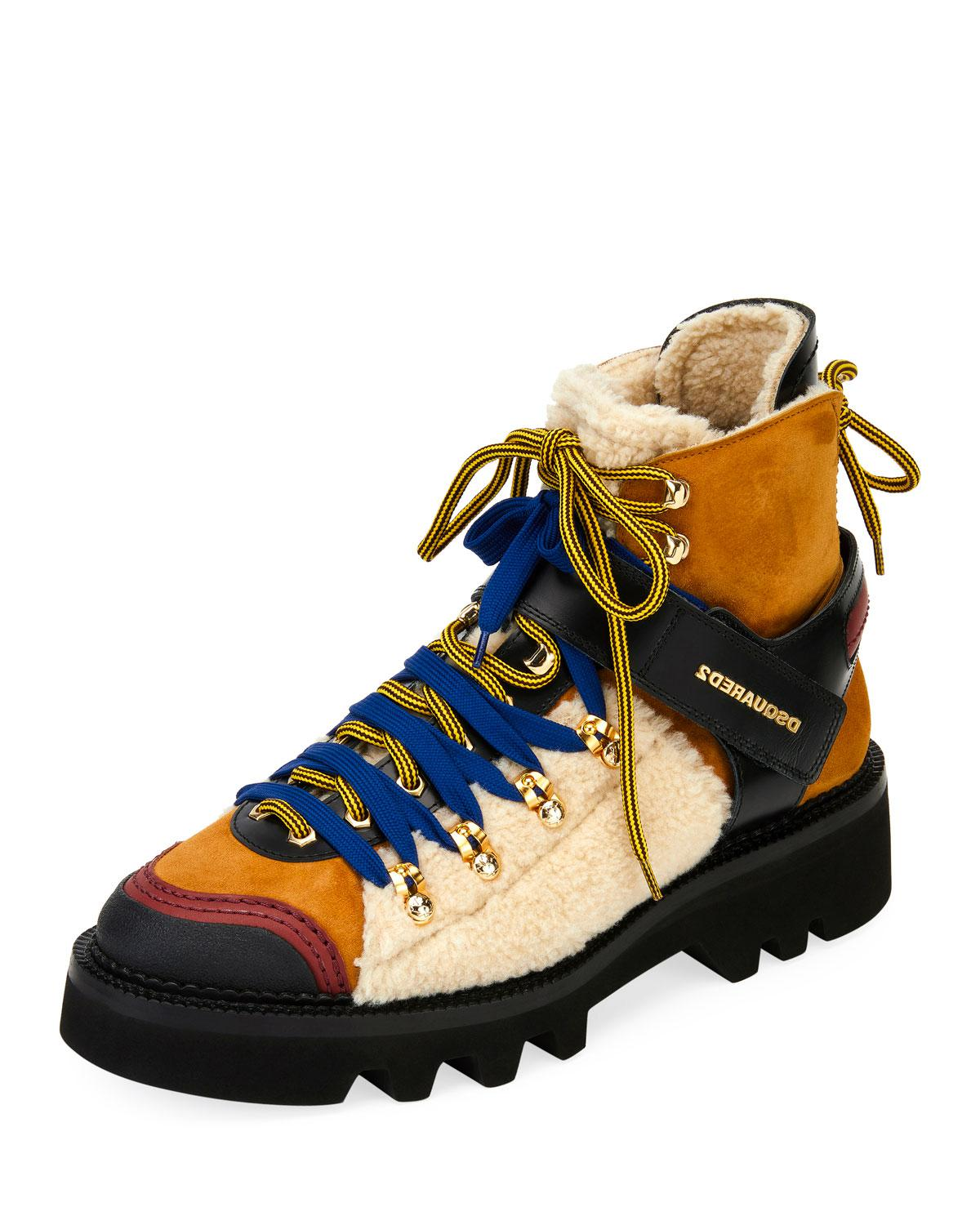 dsquared2 hiking boots