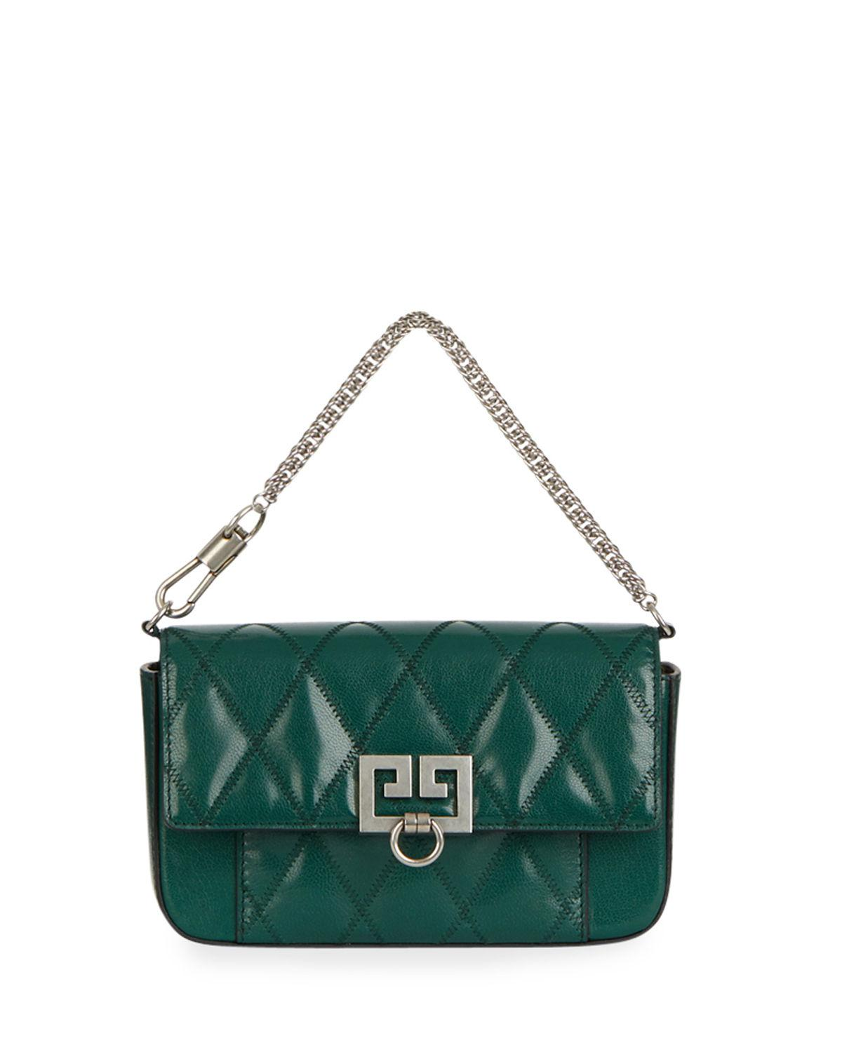 Givenchy. Women s Green Pocket Mini Pouch Convertible Clutch belt Bag ... 27c3706019026